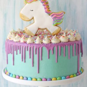 Торт c пряником «Eдинорог»