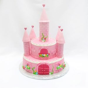 Торт крепость для девочки