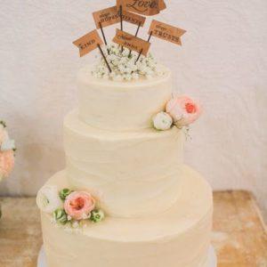 Торт с флажками