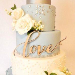 Торт топпер LOVE