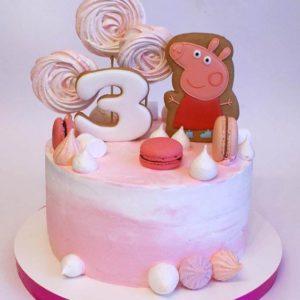 Торт Пеппа Пряники