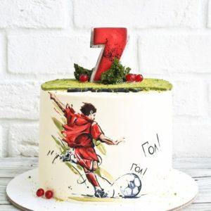 Футбольний торт