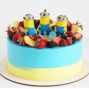Торт Кремовый с Миньонами
