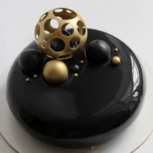 Чорний мусовий торт