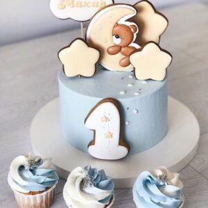 Набор торт с капкейками