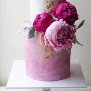 Відкритий двох'ярусний торт