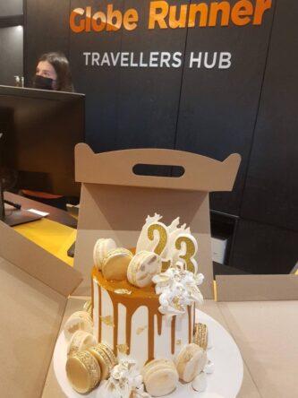 торт на 23 года