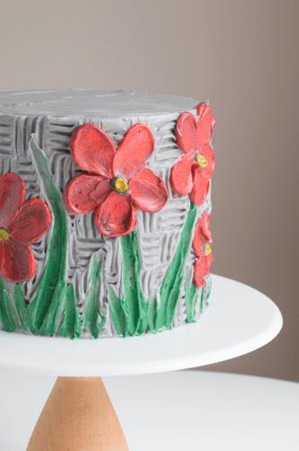 Прикраса торта малюнками