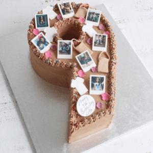Торт «Цифра 9»