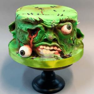 (RU) Торт на Хэллоуин