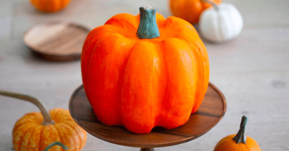 Торт на Хэллоуин: как сделать самому тыкву