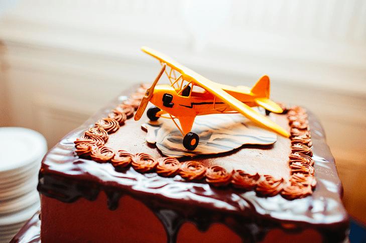 Торт на день авиации