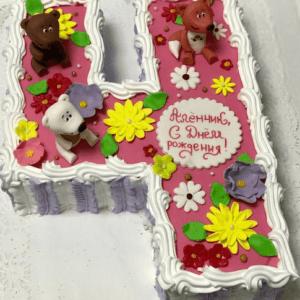 Торт «Цифра 4»