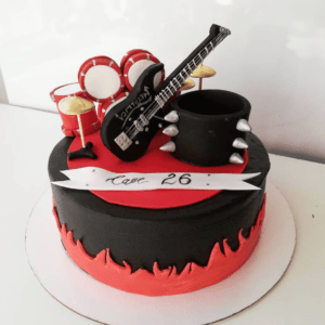 Торт для рокера