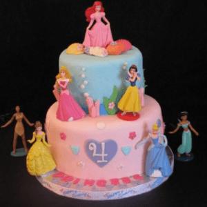 Торт «Принцессы Дисней»