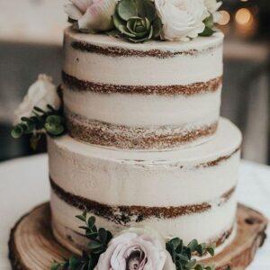 Торт з відкритими коржами