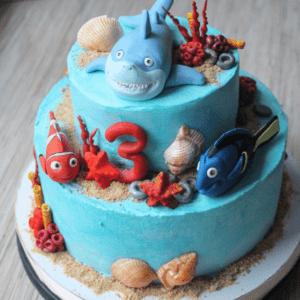 Торт «В поисках Немо»