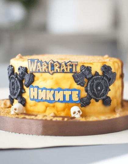 Торт по мотивам Варкрафт